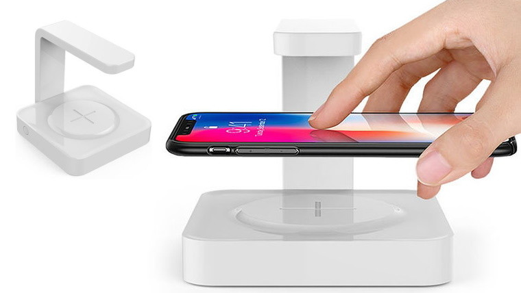 wireless charger and uv cleaner