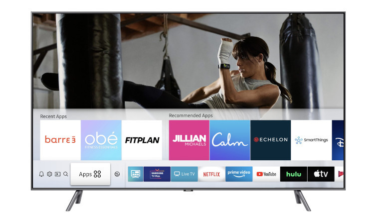 Fitness apps now available on Samsung TVs