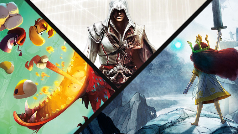 Ubisoft Brings Back Assassin S Creed Ii Rayman Legends And Child