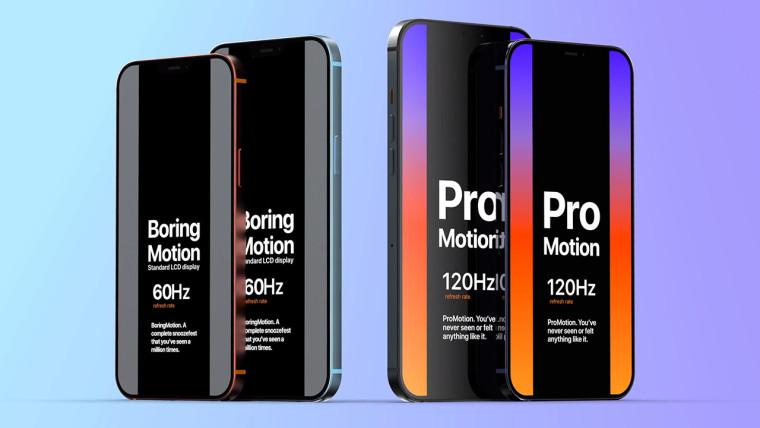 苹果可能不会在iPhone 12 Pro机型上引入120Hz显示屏