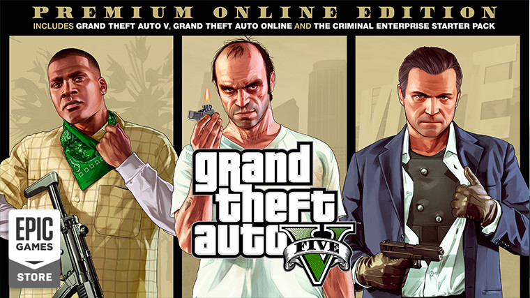 Grand Theft Auto V is free to claim on the Epic Games Store this ...