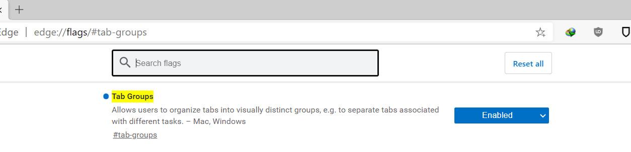 تطرح Microsoft ملحق Group Tabs & Share Extension لمستخدمي Chromium-Edge 3