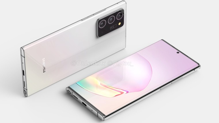 Samsung Galaxy Note20+ design revealed in leaked renders - Neowin