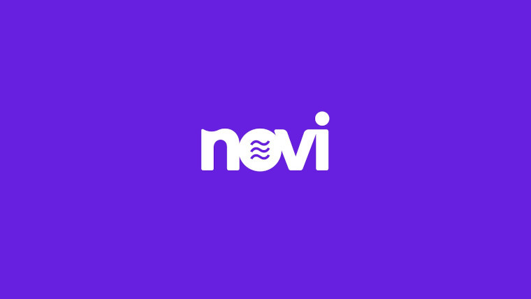 The new Novi logo with the Libra symbol in the 'o'.