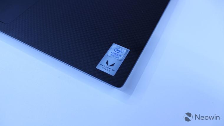 Intel Kaby Lake G with RX Vega M sticker