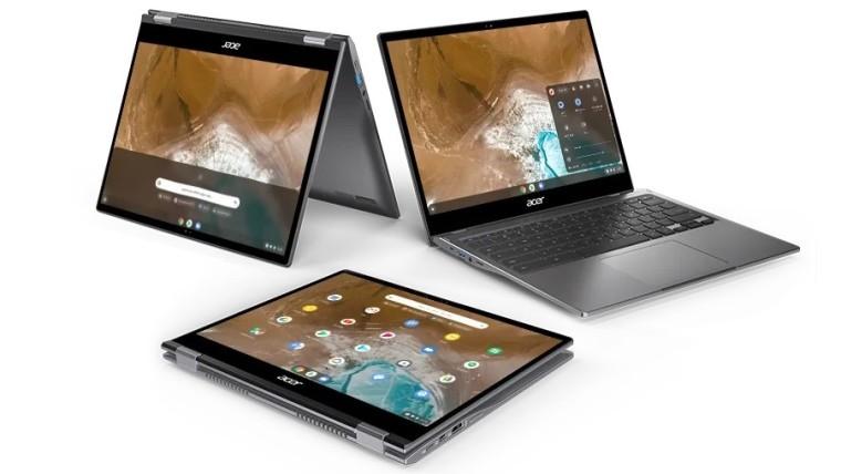 宏cer基于英特尔的Athena项目推出新的Chromebook Spin 713