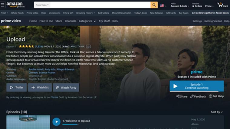 亚马逊Prime Video在美国推出了对Watch Party beta的支持