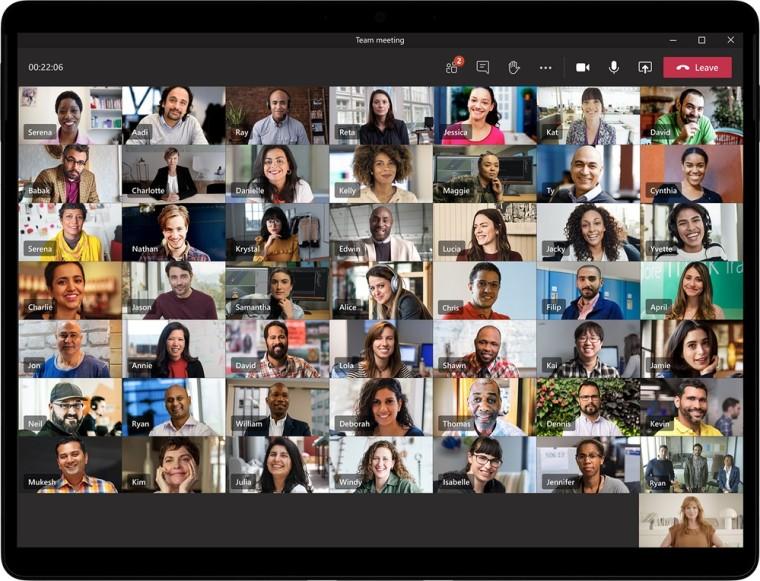 A 49-personal Teams meeting screen