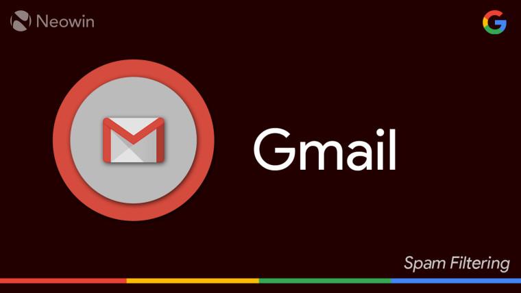 根据用户报告,Gmail的垃圾邮件过滤器可能已损坏