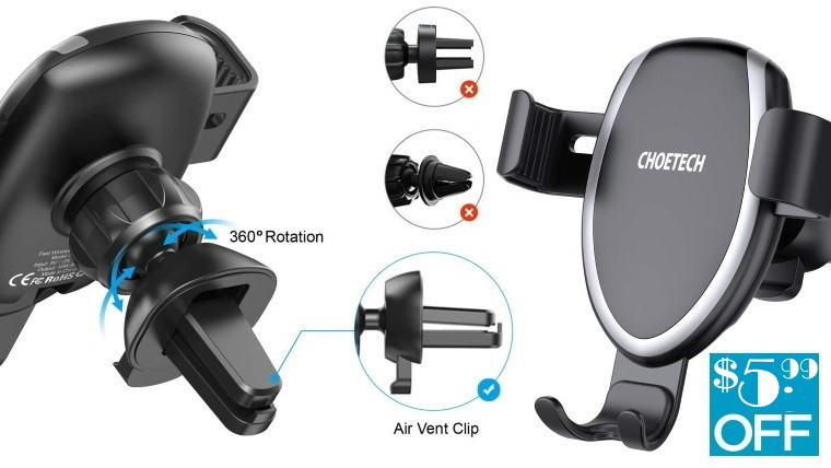 Wireless Car Charger, Car Mount Phone