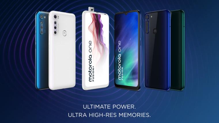 摩托罗拉One Fusion首次亮相,带有48MP摄像头,6.5英寸缺口显示屏等