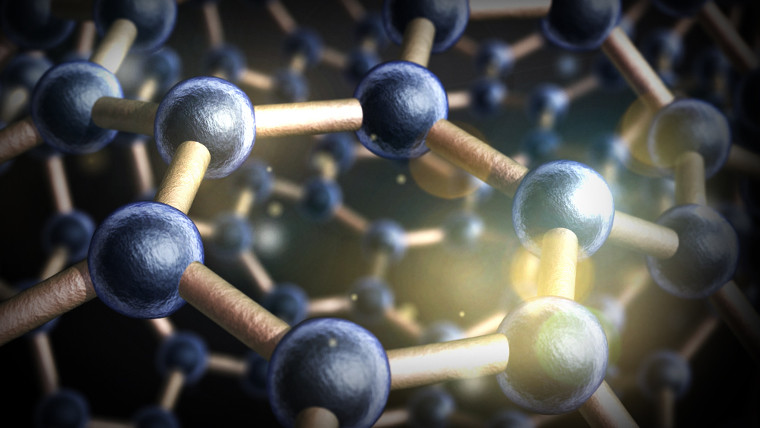 Visualisation of amorphous boron nitride