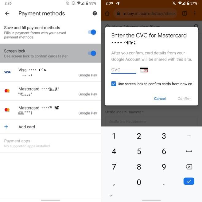 Google Chrome - CVC