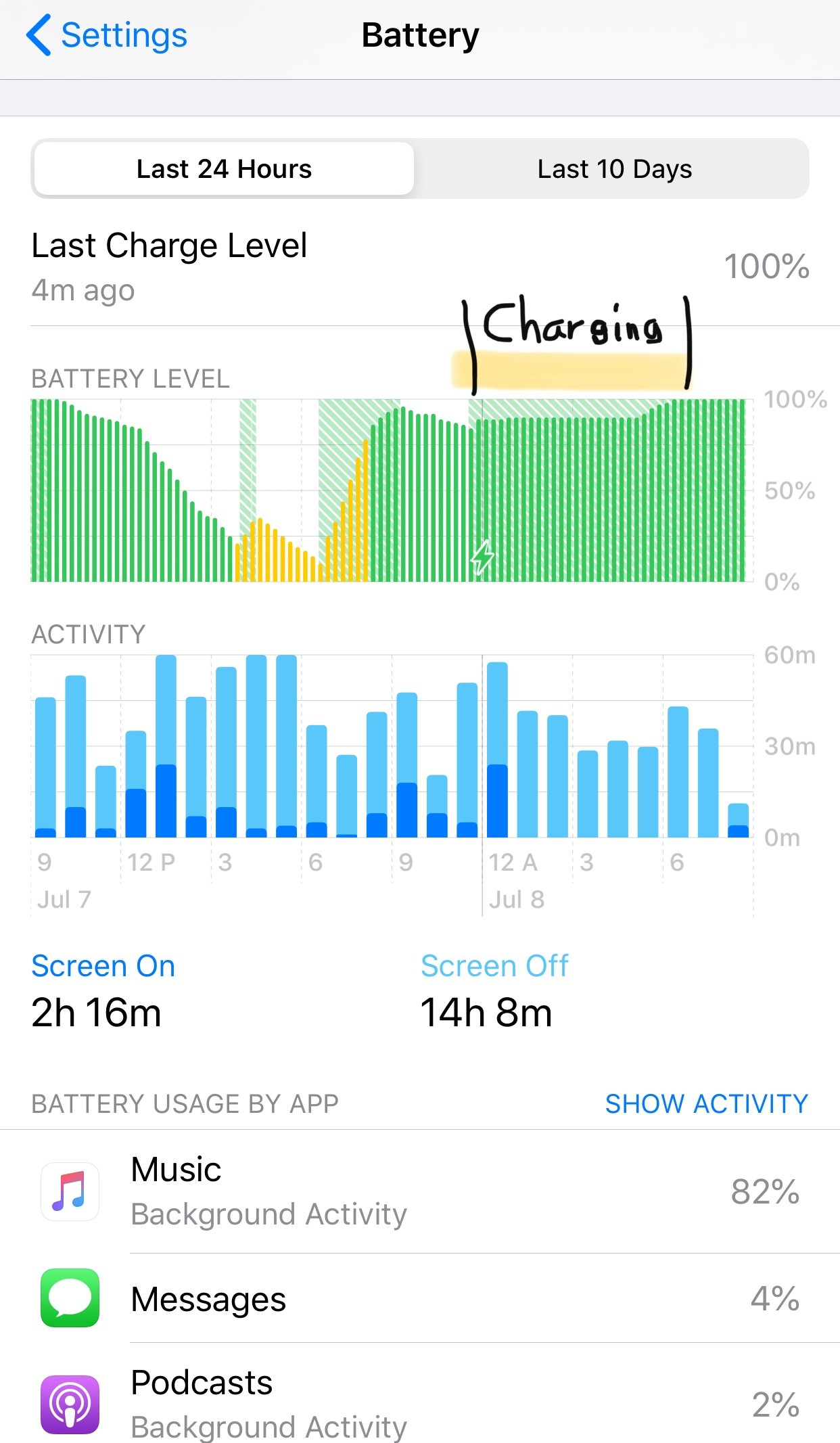 battery drain issues on iOS 13.5