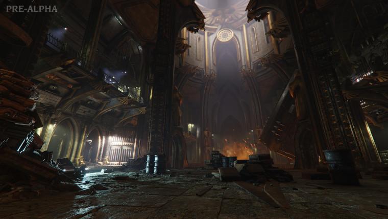 Darktide pre-alpha environment screenshot