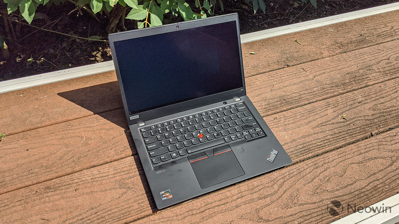 Lenovo Thinkpad X13 Amd Unboxing And First Impressions Neowin