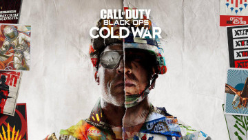 This is the official poster for Call of Duty Black Ops - Cold War