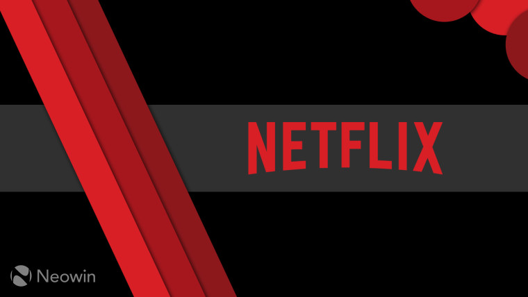 A graphic of a Netflix icon on a dark background