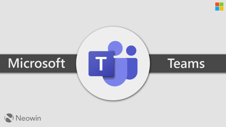 Microsoft and Teams written next to the Teams logo