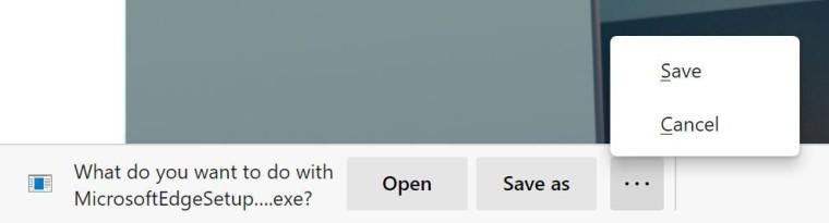 Edge Dev 87 - opcje pobierania