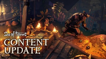 Sea of Thieves Vaults of the Ancients update delivers dogs, treasure vaults, and more