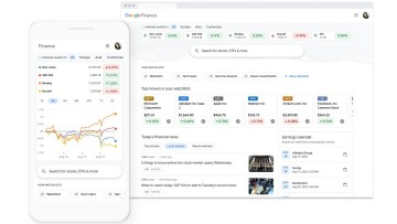 Google redesigns Finance to make it easier to find and follow stock data