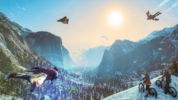 Ubisoft's Riders Republic is a new multiplayer-focused extreme sports title