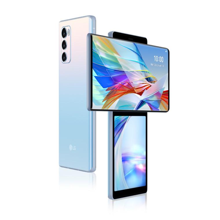LG Wing promo image