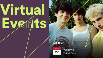 Spotify now lets artists list virtual events on their pages