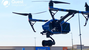 Walmart to launch drone delivery of COVID-19 test kits