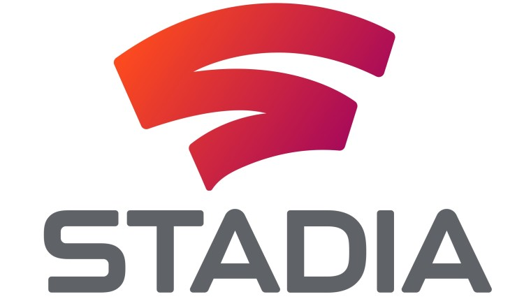 Google Stadia logo and text