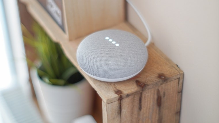 A Google smart speaker