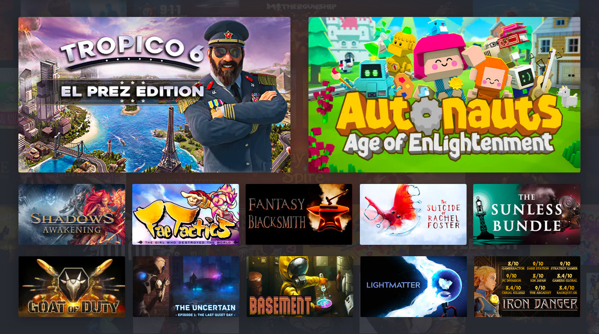 Weekend Pc Game Deals An Anniversary Sale For All Your Drm Free Needs Neowin