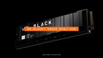 A WD Black SN850 NVMe SSD