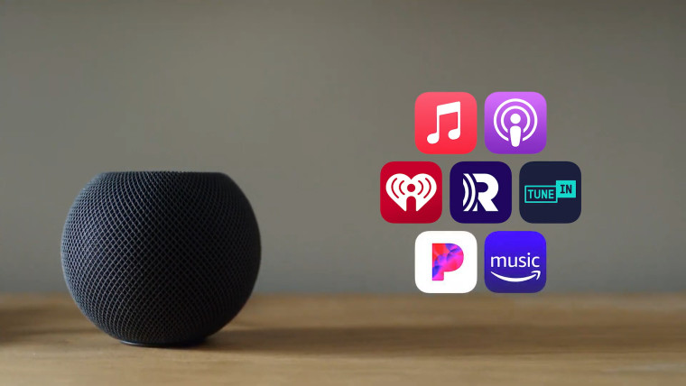 A HomePod Speaker