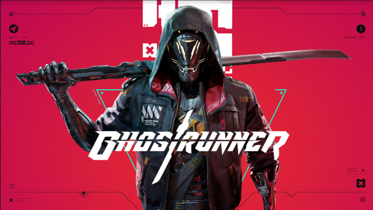 ghostrunner game key art
