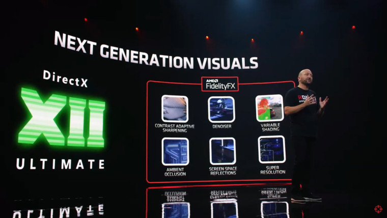 AMD talking about DirectX12 Ultimate at RX 6000 launch