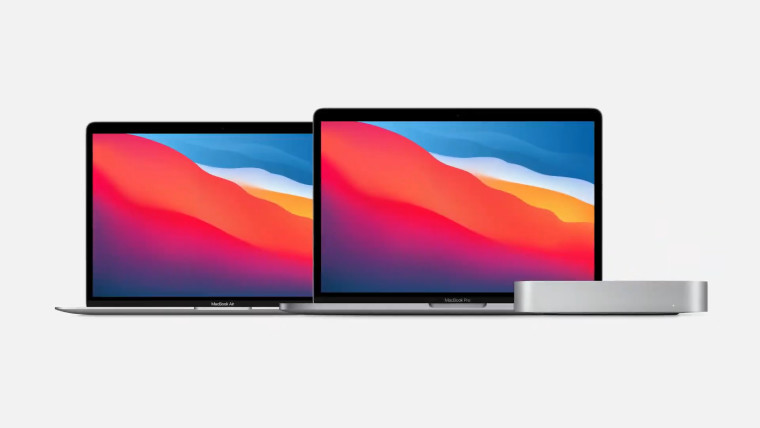 Apples lineup of PCs powered by its M1 processor