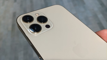 Rear camera system on the iPhone 12 Pro Max