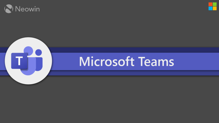 The Microsoft Teams logo on a purple and black background
