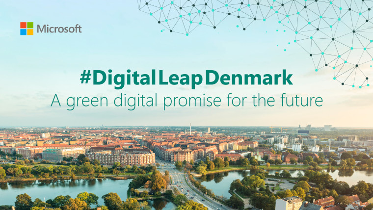 An image from Microsoft promoting Digital Leap Denmark