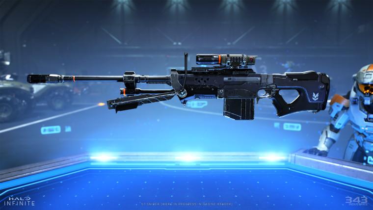Halo Infinite sniper rifle