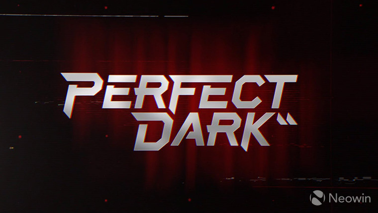 This is a screenshot of the new title sequence of Perfect Dark