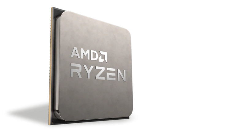 An AMD Ryzen processor render