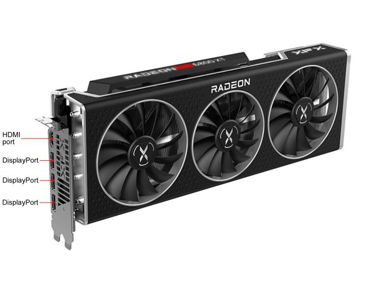 XFX adds USB-C output to its RX 6800 XT Speedster MERC319 ...