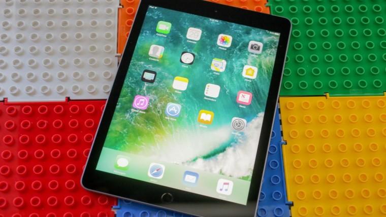 iPad 9.7 device on lego