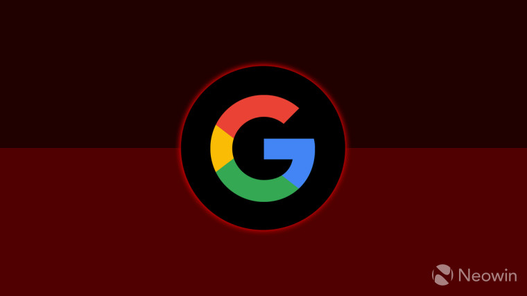 The Google G logo on a red background