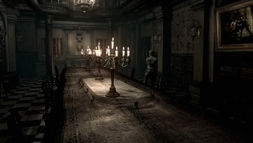 This is an image from a Resident Evil remake