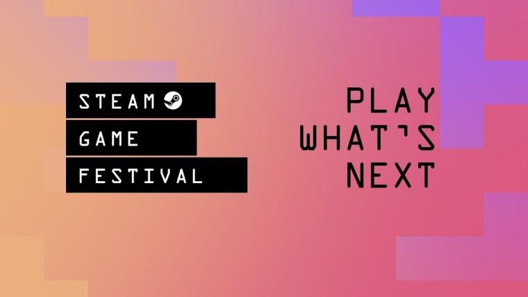 Steam Game Festival promo reading