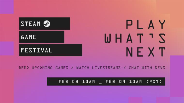 Steam Game Festival promo